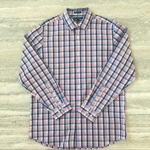 NWT Men's Banana Republic Camden Fit Plaid Shirt